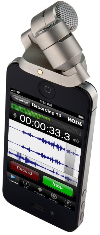 RODE iXY Stereo Mic per iPhone e iPad