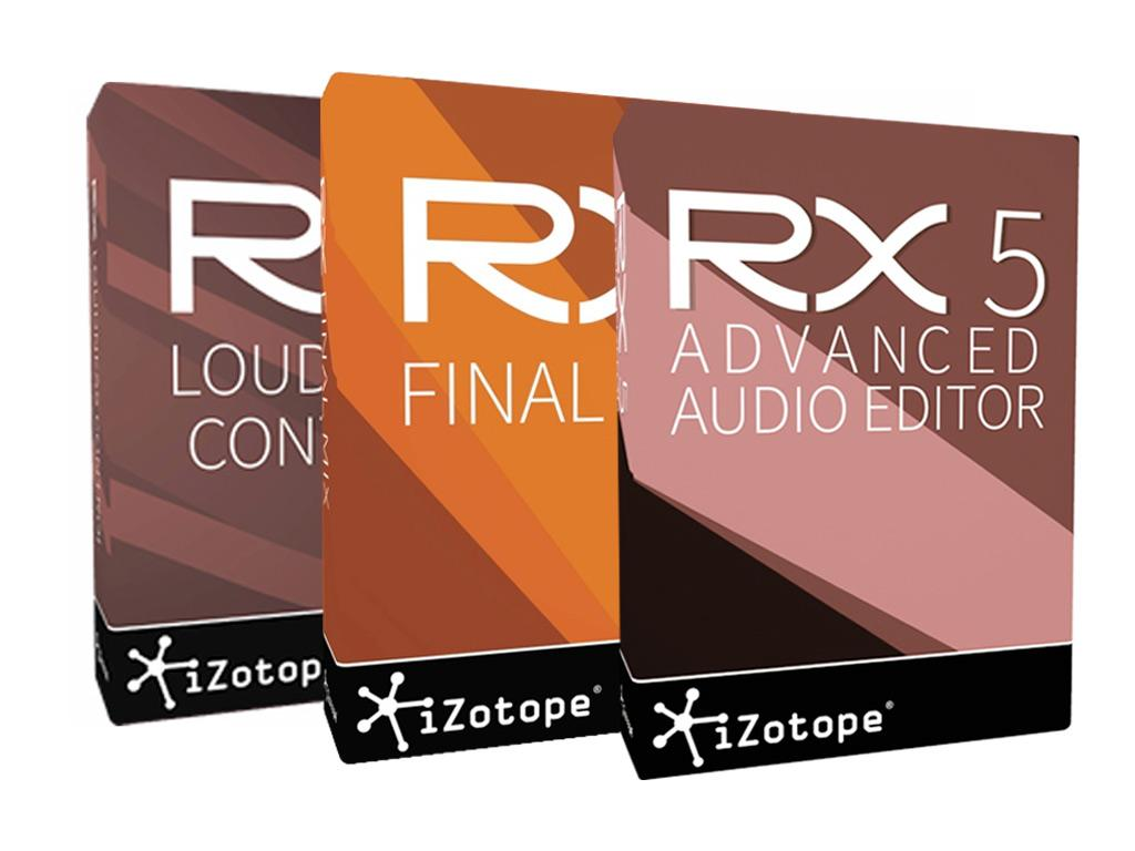 IZOTOPE RX5 Post Production Suite (El. Vers)